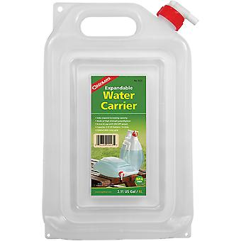 Coghlan-apos;s Expandable Water Carrier, 2-Gallon Camping Jug, Collapses for Storage