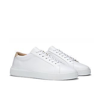 Uniform Standard Series 8 Original White Leather Trainers