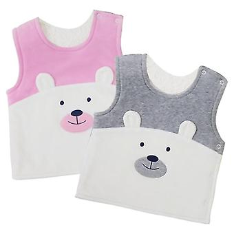 Baby Vests, Double Layer, Thick Warm Shirts