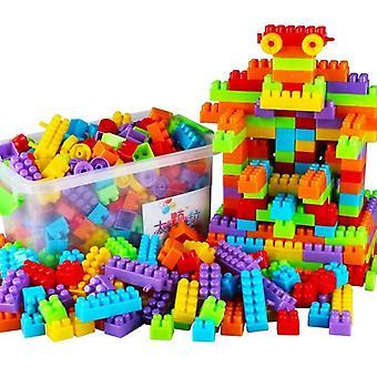 Creativity Diy Building Block Inserting Plastic Blocks Imagination Educational