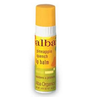 Alba Botanica Lip Balm, Pineapple Quench .15 OZ (pack of 24)