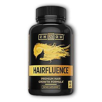 Zhou Nutrition Hairfluence, 60 Veg Caps
