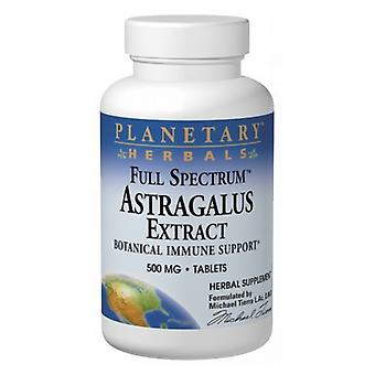 Planetary Herbals Full Spectrum Astragalus Extrait, 60 onglets