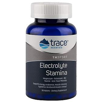 Trace Minerals Electrolyte Stamina Tablets, 90 Tabs