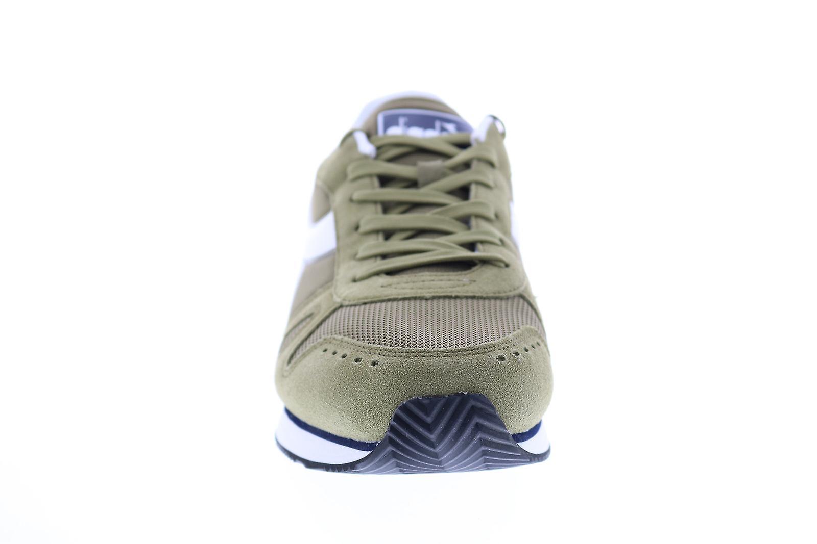 Diadora enkel kjøre menns grønn semsket livsstil joggesko sko