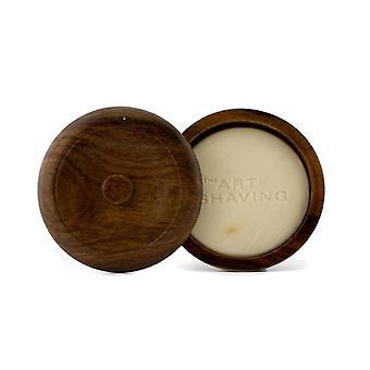 Shaving soap w/ bowl sandalwood essential oil (for all skin types) 100373 95g/3.4oz