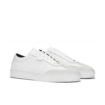 Uniform Standard Series 3 White Tumbled Leather Trainers