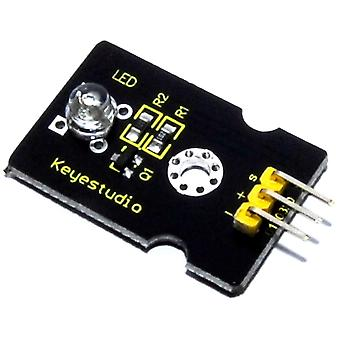 Keyestudio 5mm Red Straw Hat LED Module