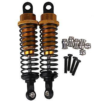 A285004Y Upgrade Parts RC 1:16 Car Shock Absorber Set de 2 Amarelo