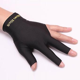 Snooker Special Billiard Three-finger Gloves