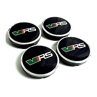 VRS Skoda Car Wheel Center Caps Hub Cover 60mm 4 PCS Para Felicia Octavia Fabia Roomster Superb Yeti Rapid Citigo