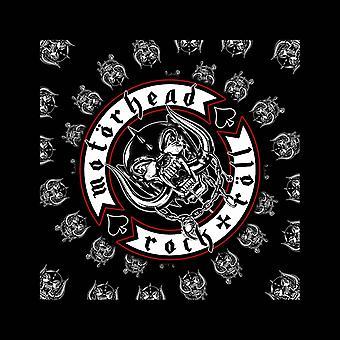 Motorhead huivi Biker rintanappi yhtyeen Logo uusi virallinen musta