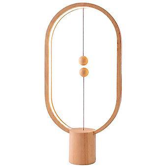 Heng Balance Lamp, Table Lamp - Oval - Light Wood