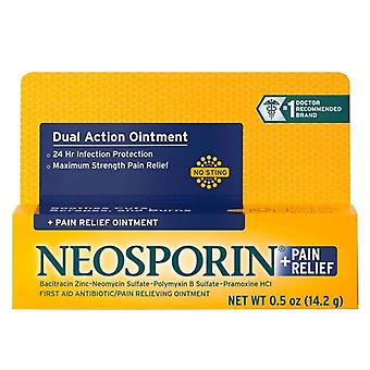 Neosporin + pain relief antibiotic ointment, 0.5 oz