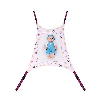 Coffre-fort détachable Baby Cot Crib Swing Elastic Hammac Réglable Net Portable,