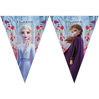 Disney Frozen 2 - France Frost 2 Vimpel - France Drapeau Girlang, Bannière