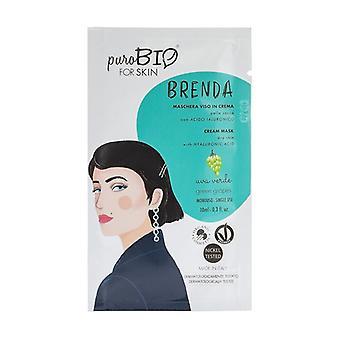 Brenda Cream ansiktsmask - torr hudgrön druva 03 10 ml grädde (Druva)