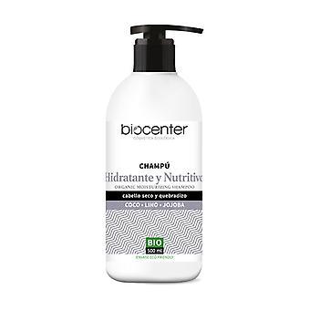 Bio kosteuttava ravitseva shampoo Kookos Pellava Jojoba 500 ml