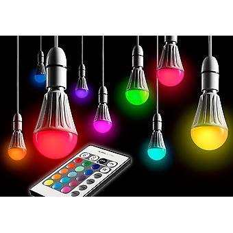 10w Télécommande Couleur Changeant Led Light Bulb E27 Super Bright Dimmable Version - 2ème génération - Ag175 [classe d'énergie A]
