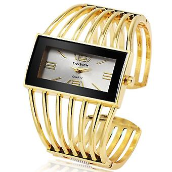 Women Watch Luxury Fashion Rose Gold Bangle Bracelet Dress Clock Female Lady