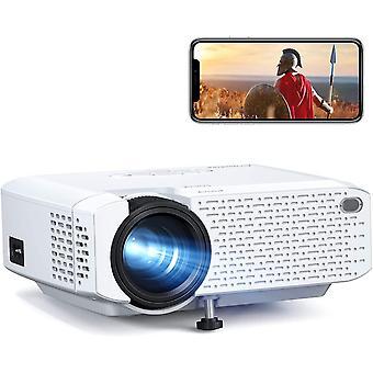 Wi-Fi Projector, Mini Phone Projector, Wireless Home Cinema Supports Full HD