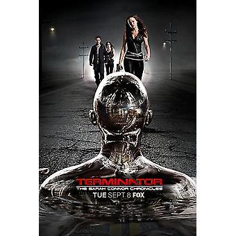 Terminator Sarah Connor Chronicles - tyyli BI elokuvajuliste (11 x 17)