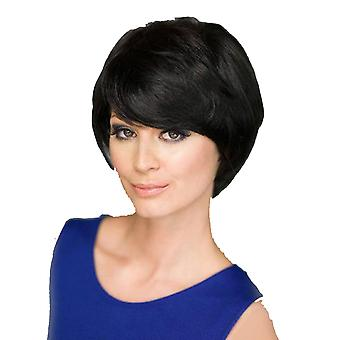 Brand Mall Wigs, Lace Wigs, Realistic Short Haircut With Diagonal Bangs