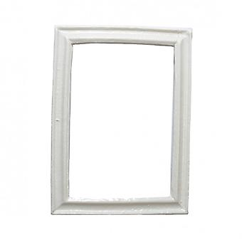 Dolls House Modern Empty White Picture Frame Small 1:12 Miniature Accessory