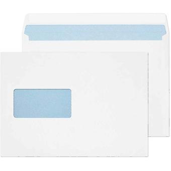 Blake Purely Everyday C5 162 x 229 mm 100 gsm Wallet Peel & Seal Window Envelopes  White-Pack of 500