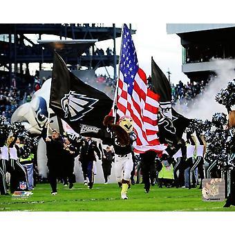 Philadelphia Eagles maskotti syöksyä valokuvatulostus