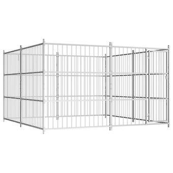 Outdoor dog kennel 300×300×185 cm