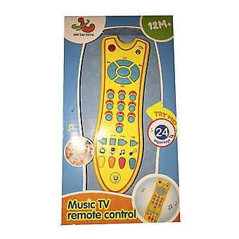 Baby, Music Mobile Phone, Tv Remote Control, Early Education, Electric Numbers,