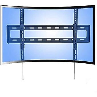 Fleximounts R1 Curved Panel UHD HD Fixed TV Wall Mount Bracket for most of 32-70 Inches LED, LCD