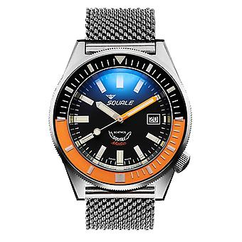 Squale MATICXSC.ME22 600 Meter Swiss Automatic Dive Wristwatch Mesh