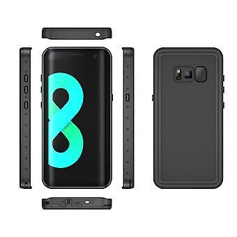 Vedenpitävä kuorikotelo Samsung Galaxy S8 + / S8 Plus - Musta