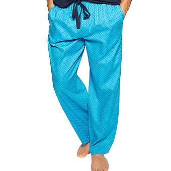Cyberjammies Elliot 6566 Men's Blue Paisley Cotton Pyjama Pant
