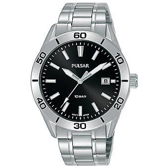 Pulsar orologio uomo PS9647X1, Quarzo, 40mm, 10ATM