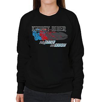 Knight Rider Fully Tanked And Cruisin Women's Sweatshirt