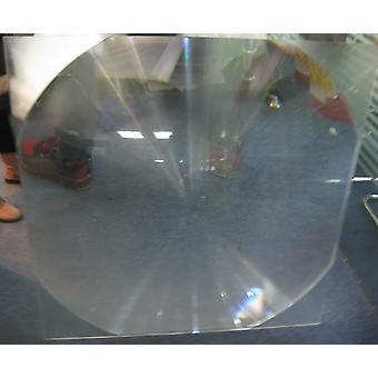 Neliön muoto , polttoväli Fresnel Solar Lens