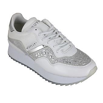 Cruyff wave embelleshed white - women's footwear