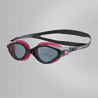 Speedo Futura Biofuse Flexiseal Okulary kąpielowe Wędzone soczewki - Różowy