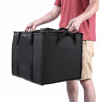 Reusable Grocery Insulated Cooler Bag (black)