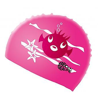 BECO Sealife Junior silikon simning Cap-rosa