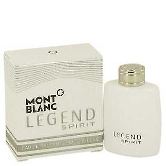 Montblanc Legend Spirit By Mont Blanc Mini Edt .15 Oz (men) V728-538767
