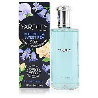 Yardley Bluebell & Sweet Pea Eau De Toilette Spray By Yardley London 4.2 oz Eau De Toilette Spray