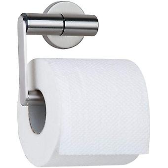 Tiger Boston Toilet Roll Holder, Stainless Steel Brushed, 13.7 x 10.8 x 6.3 cm