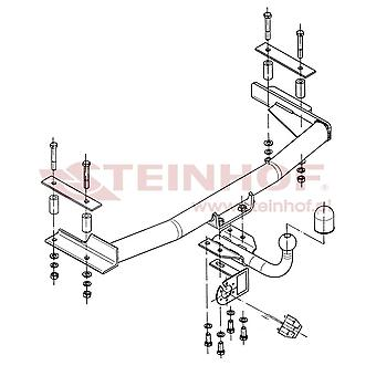 Steinhof Tow Bars And Hitches for ESCORT mk6 Saloon 1993 to 1995