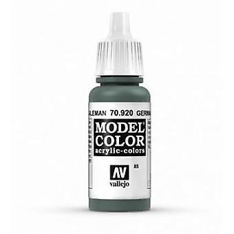 Vallejo Model Color 17ml Acrylic Paint - 920 German Uniform