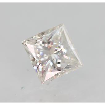 Sertifioitu 0,31 karat E VVS2 Princess Enhanced Natural Diamond 3.93x3.8mm 2EX