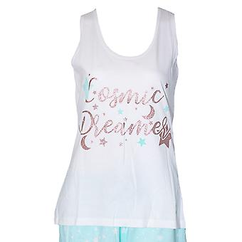Forever Dreaming Womens/Ladies Cosmic Dreams Short Pyjama Set
